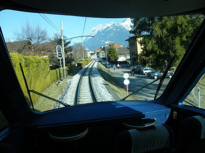GoldenPass Line trein