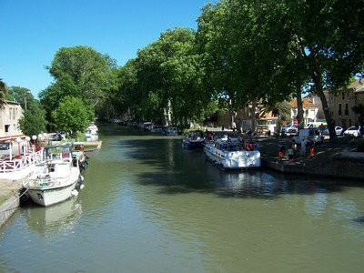 Le canal du Midi :/