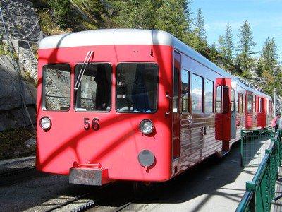 Le train du Montenvers
