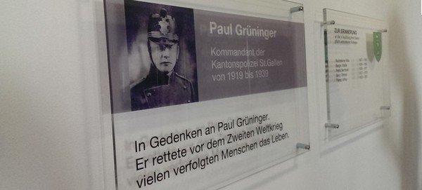 Paul Grüninger, Carl Lutz, Félix Kersten & Hans Litten