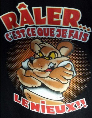 "Mode râleur ""on""    %)"