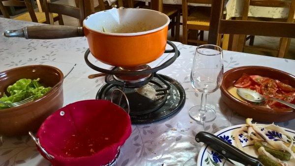 Une bonne fondue en plein été !