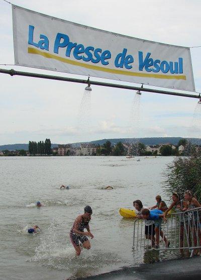 Dimanche 22 Aout 2010: Triathlon de Vesoul (70)