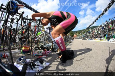 Dimanche 5 Septembre 2010 : Triathlon de Gérardmer (88)