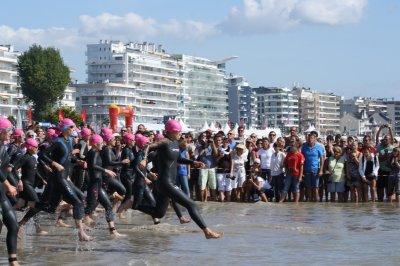 Dimanche 19 Septembre 2010 : championnat de France de Triathlon universitaire à La Baule (44)