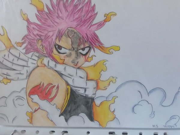 Mes dessins de Fairy Tail: