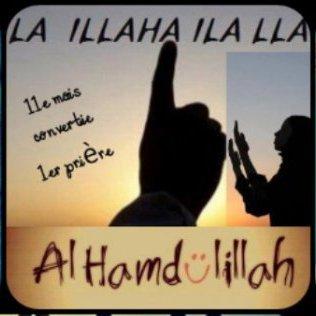 Apres la fierté d'etre musulmane la fierté de prier !