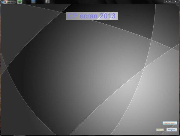 Explication du logiciel CP écran 2013 que j'ai programmer
