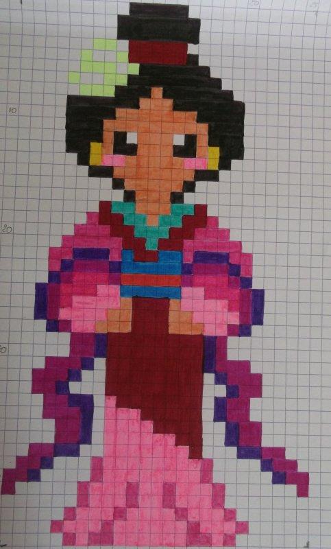 Les Princesses Blog De Passion Pixel Art