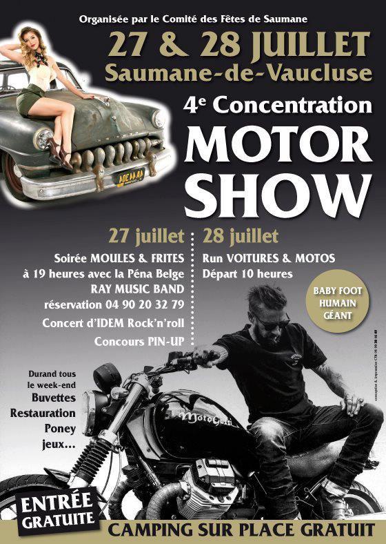 Motor show, Saumane.