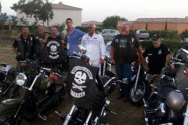 Original military motorcycle club