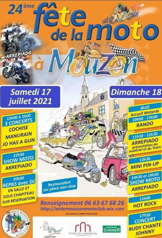 Ce week end à Mouzon! Nous y serons!