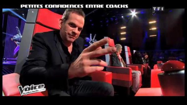 Mon ange Garou  coatch de the voice 2 <3