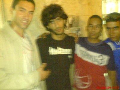 belaid et bo3lam et kordache avec le star de cinema algerien