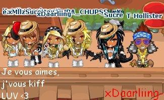 Au Café Tanuki > Tu te fais pleins d'amis ;) ♥ !