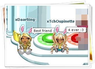 xTchOupinette, ma zuzu ♥ !