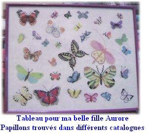 Tableau papillons