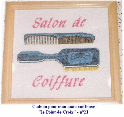 Tableau pour ma coiffeuse, Patricia