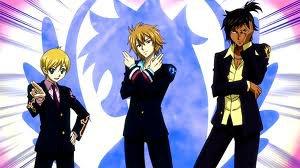 Les membres de la guilde Blue Pegasus...