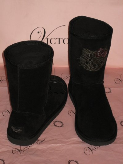 Boots fourrées Hello Kitty By Victoria Couture Ma collec