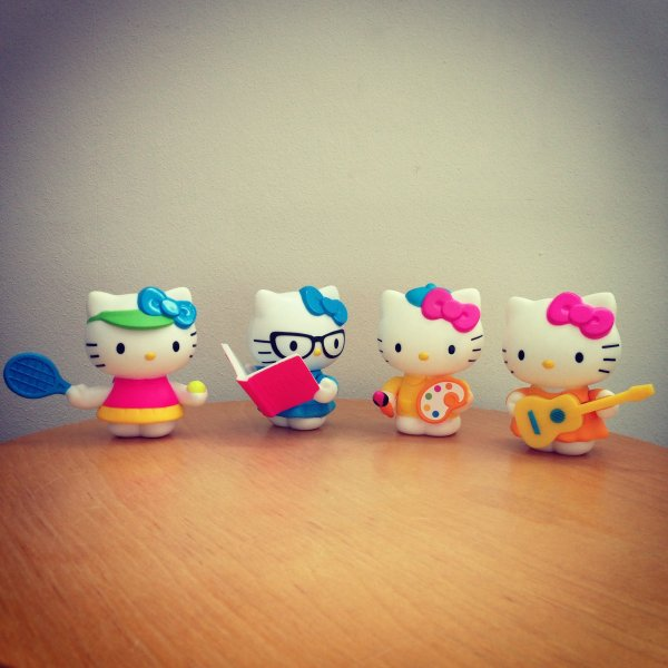 Figurines Hello Kitty Mac Do