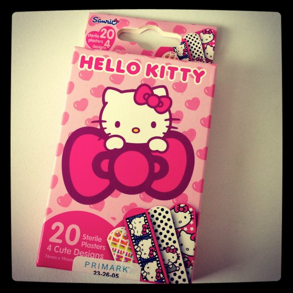 Pansements Hello Kitty Primark