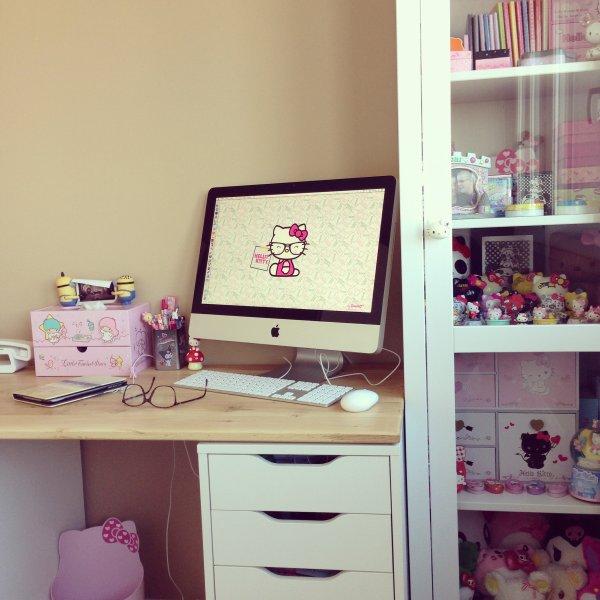 Nouveau coin bureau ❤️