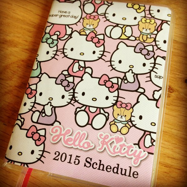 Agenda Sanrio Hello Kitty 2015