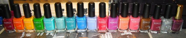 KIKO offre des ongles multicolores à bas prix !