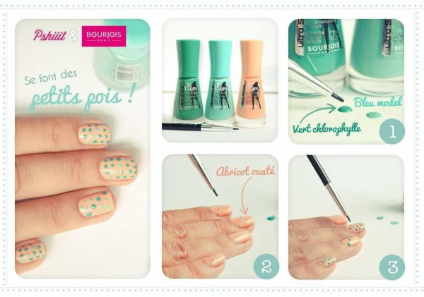 Je suis juste fan de ces nail art pour d butantes la touche f minit le vernis ongle - Nail art debutant ...