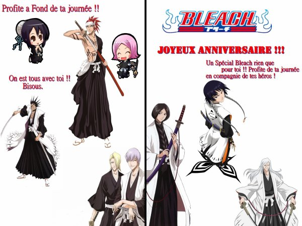 "Carte ""Bleach"""