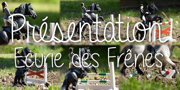 Présentation ~ Ecurie des Frênes & son blog