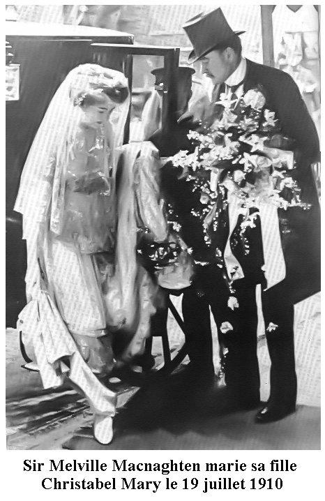 Melville alias Jack l'éventeur marie sa fille Christabel