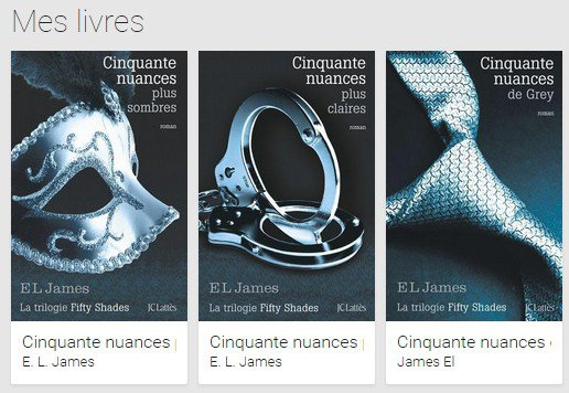 **Fifty Shades of Grey **