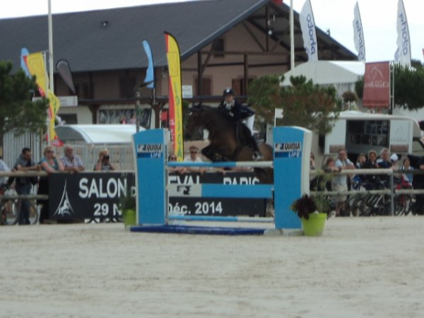 5 juillet 2014 : CSO As Poney élite excellence 1ère manche