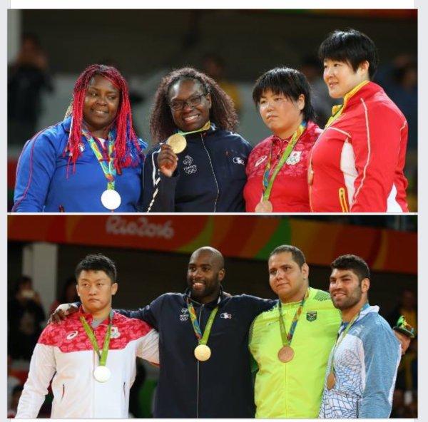 Jeux Olympiques Rio 5 médailles