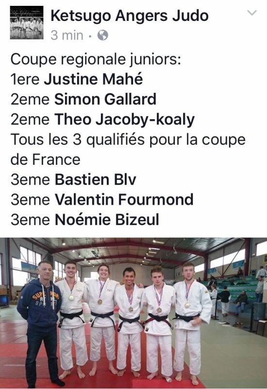Encore une qualification en coupe de France pour Simon