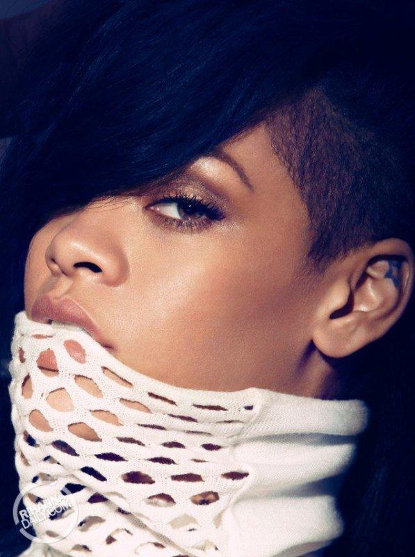 Rihanna's Harper's Bazaar Photoshoot