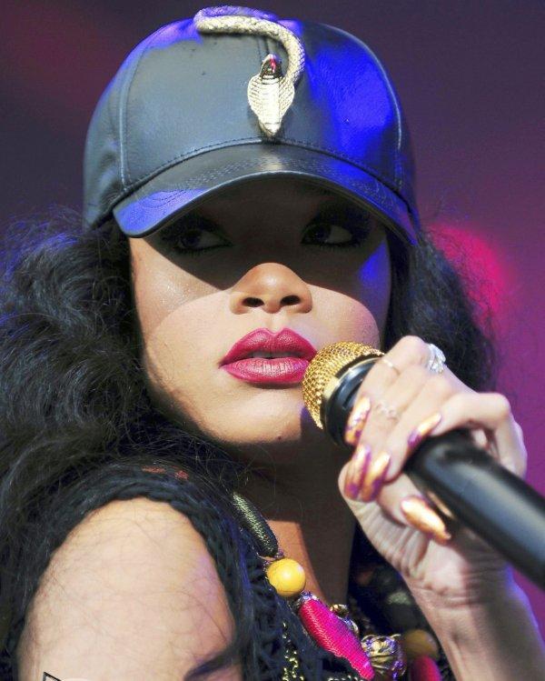 Rihanna au festival « Wireless » à Londres le 8 juillet  2012