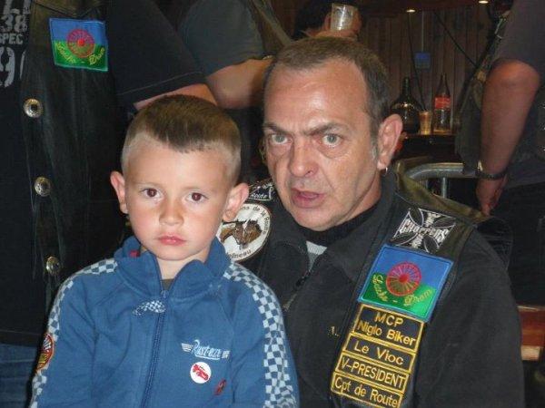 Mon frère Pitivier et CHOUCHOU, son petit fils