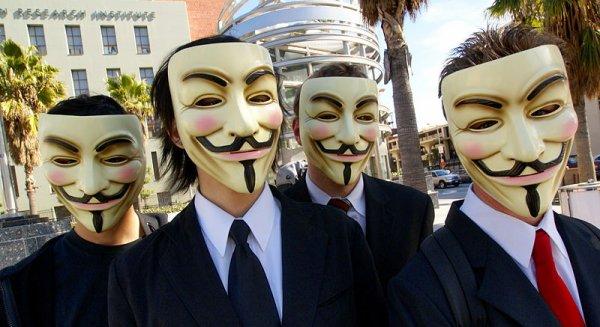 Qui sont les Anonymous?