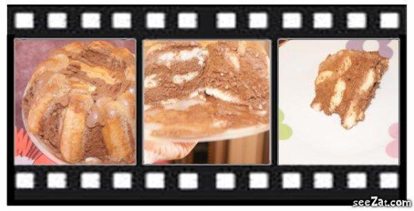 1er Test Charlotte Mousse au chocolat