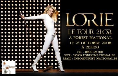 Lorie en concert tour 2lor 2008