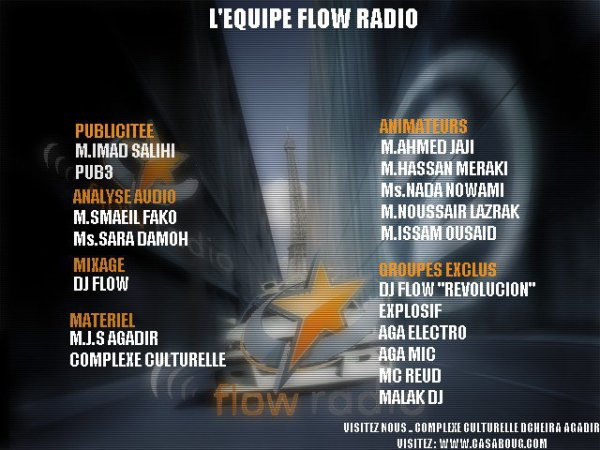 LEs Membres De Flow Radio
