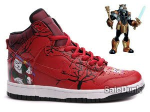 Nike Dunk High tops Battle Beast Customs sneakers For Sale