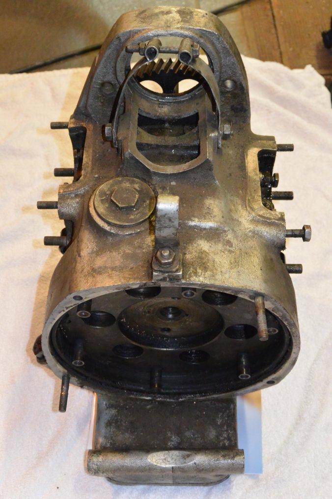 Partie moteur, le c½ur de la bête.