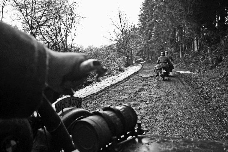 Reconstitution Ardennes 2014 à Vielsalm