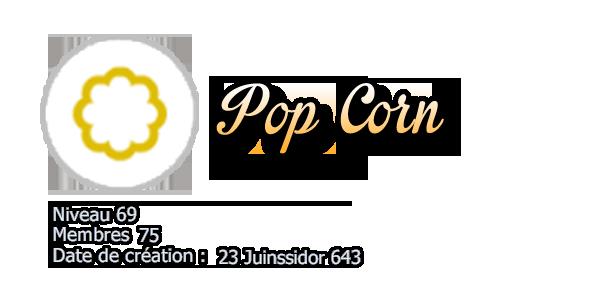 # 4 Pop Corn !