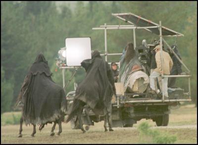 Nazguls tournage