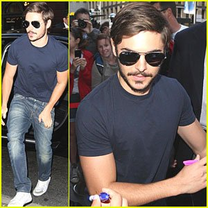 Zac Efron: 'Sunrise' in Sydney!